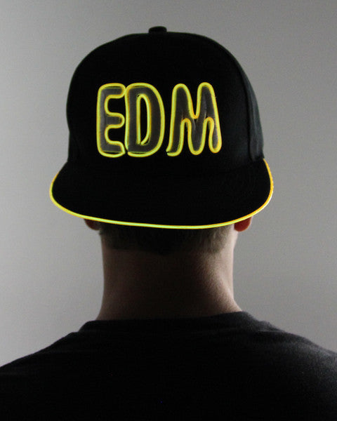 Light Up Hat - EDM - Electric Styles | World's Number 1 Light Up Shoe Store - {product_type}} - Yellow - 9