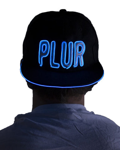 Light Up Hat - PLUR - Electric Styles | World's Number 1 Light Up Shoe Store - {product_type}} -  - 2
