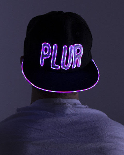 Light Up Hat - PLUR - Electric Styles | World's Number 1 Light Up Shoe Store - {product_type}} -  - 4
