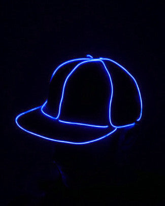 Light Up Snapback Hat - Electric Styles | World's Number 1 Light Up Shoe Store - {product_type}} - Blue - 6