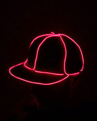 Light Up Snapback Hat - Electric Styles | World's Number 1 Light Up Shoe Store - {product_type}} -  - 8