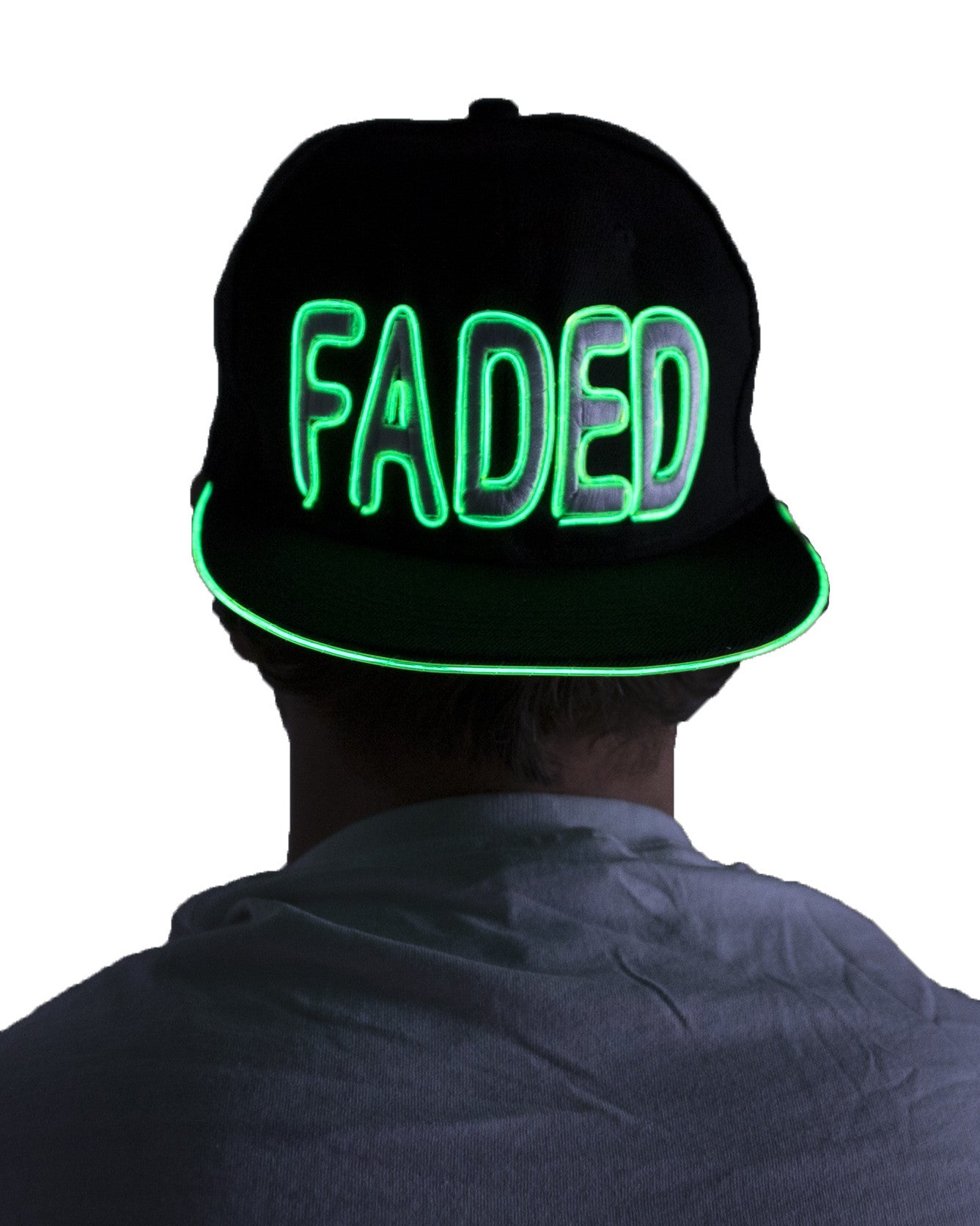 Light Up Hat - Faded - Electric Styles | World's Number 1 Light Up Shoe Store - {product_type}} -  - 6