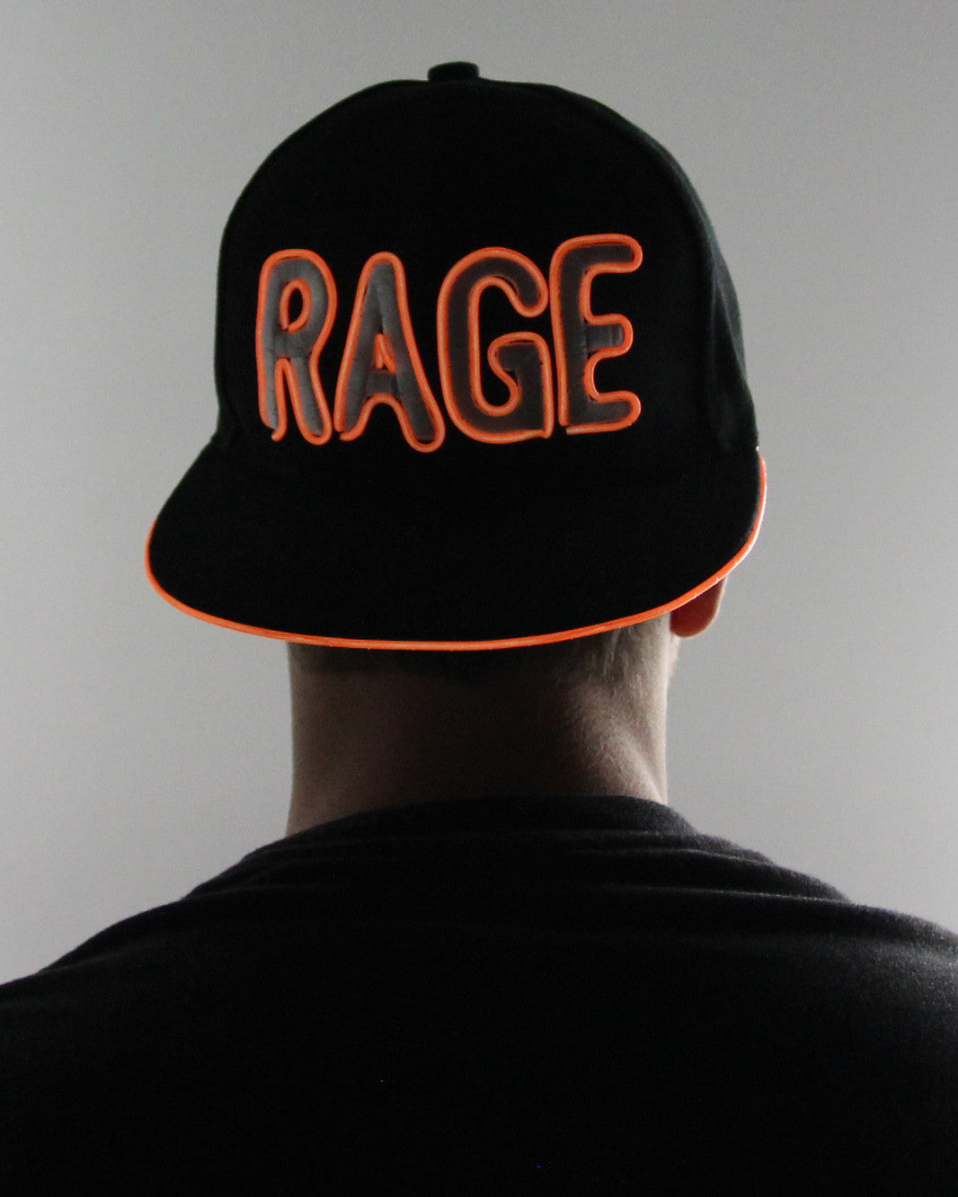 Light Up Hat - Rage - Electric Styles | World's Number 1 Light Up Shoe Store - {product_type}} -  - 3