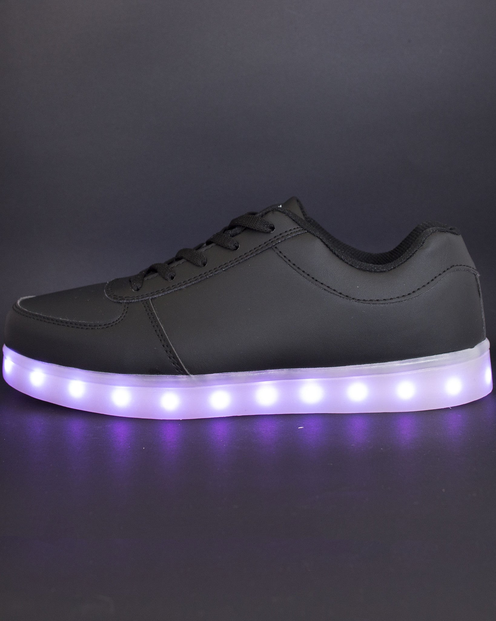Light Up Shoes - All Black - Electric Styles | World's Number 1 Light Up Shoe Store - {product_type}} -  - 6