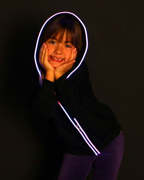 Pink Light Up Hoodie for Kids