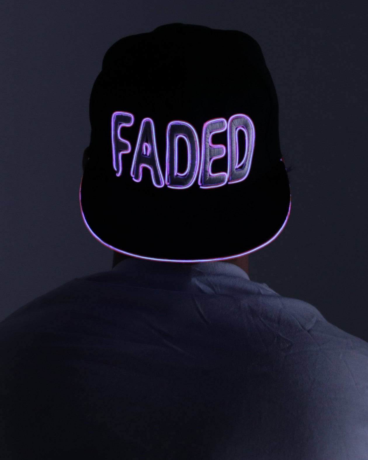 Light Up Hat - Faded - Electric Styles | World's Number 1 Light Up Shoe Store - {product_type}} - Pink - 2