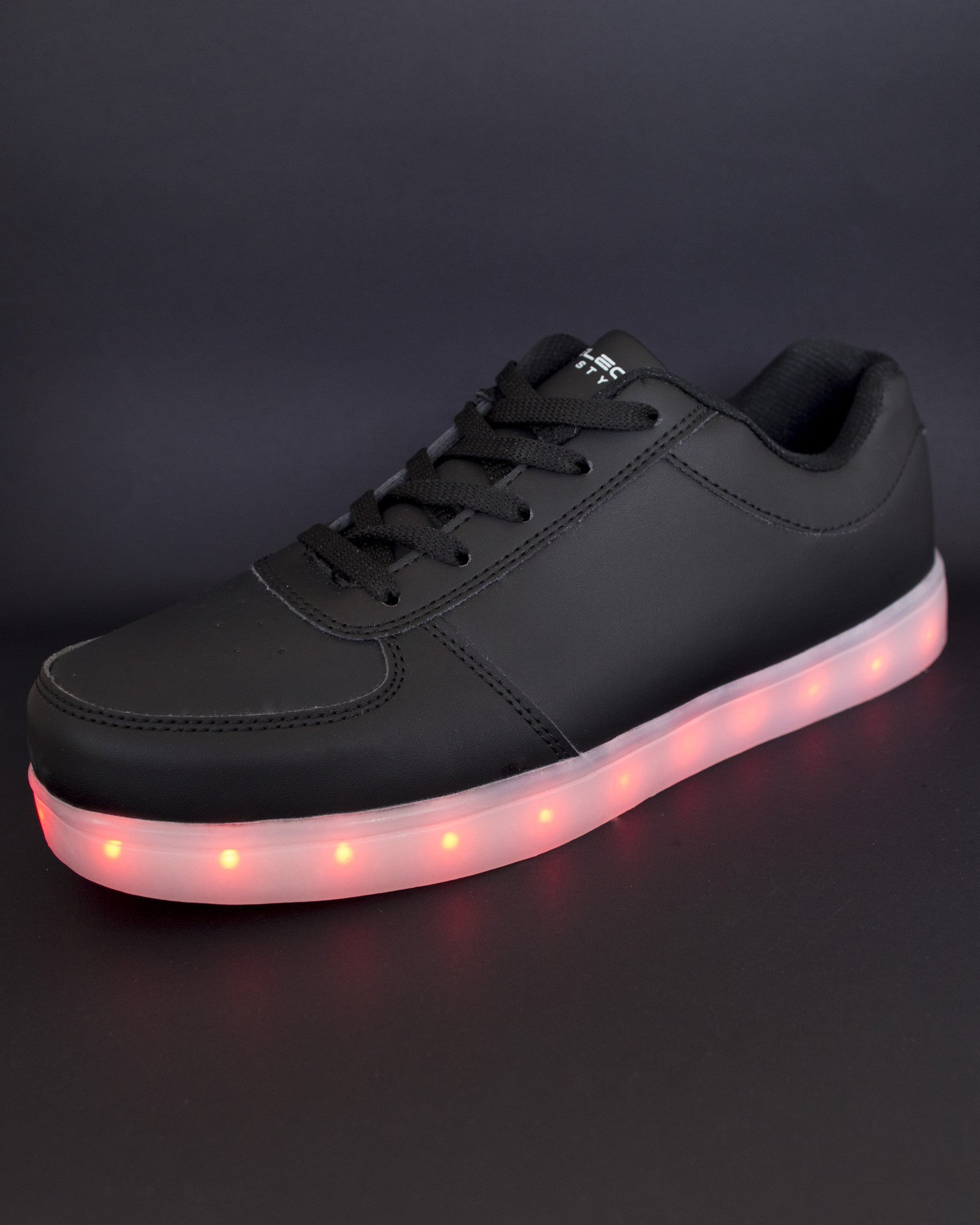 Light Up Shoes - All Black - Electric Styles | World's Number 1 Light Up Shoe Store - {product_type}} -  - 5