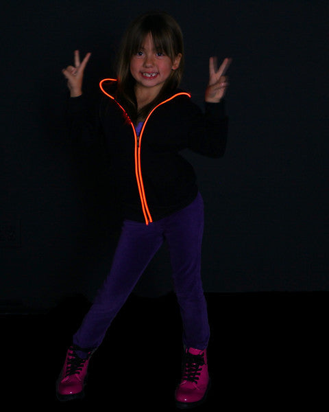 Youth Sized Light Up Hoodies from Electric Styles
