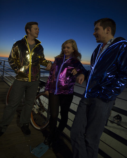 Light Up Electro Hoodie - Gold - Electric Styles | World's Number 1 Light Up Shoe Store - {product_type}} -  - 4