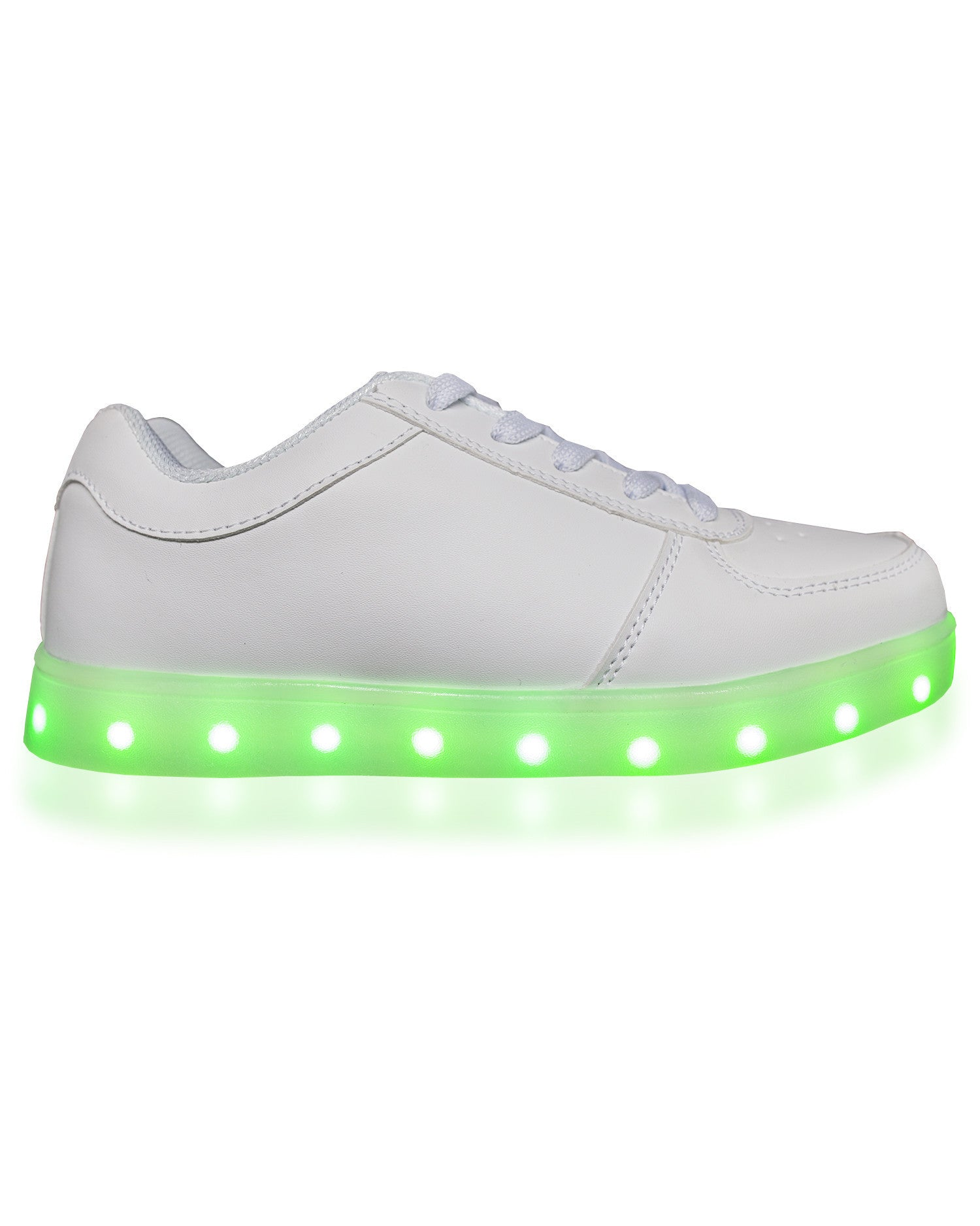Light Up Shoes- Original - Electric Styles | World's Number 1 Light Up Shoe Store - {product_type}} - White / Men's 8 - 2