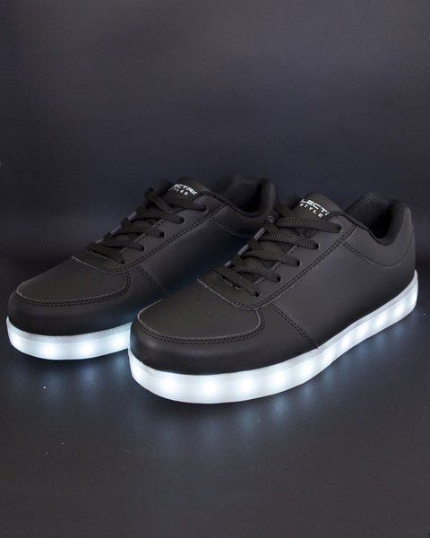 Light Up Shoes - Stone Grey - Electric Styles | World's Number 1 Light Up Shoe Store - {product_type}} - Black / Men's / Size 12 - 12