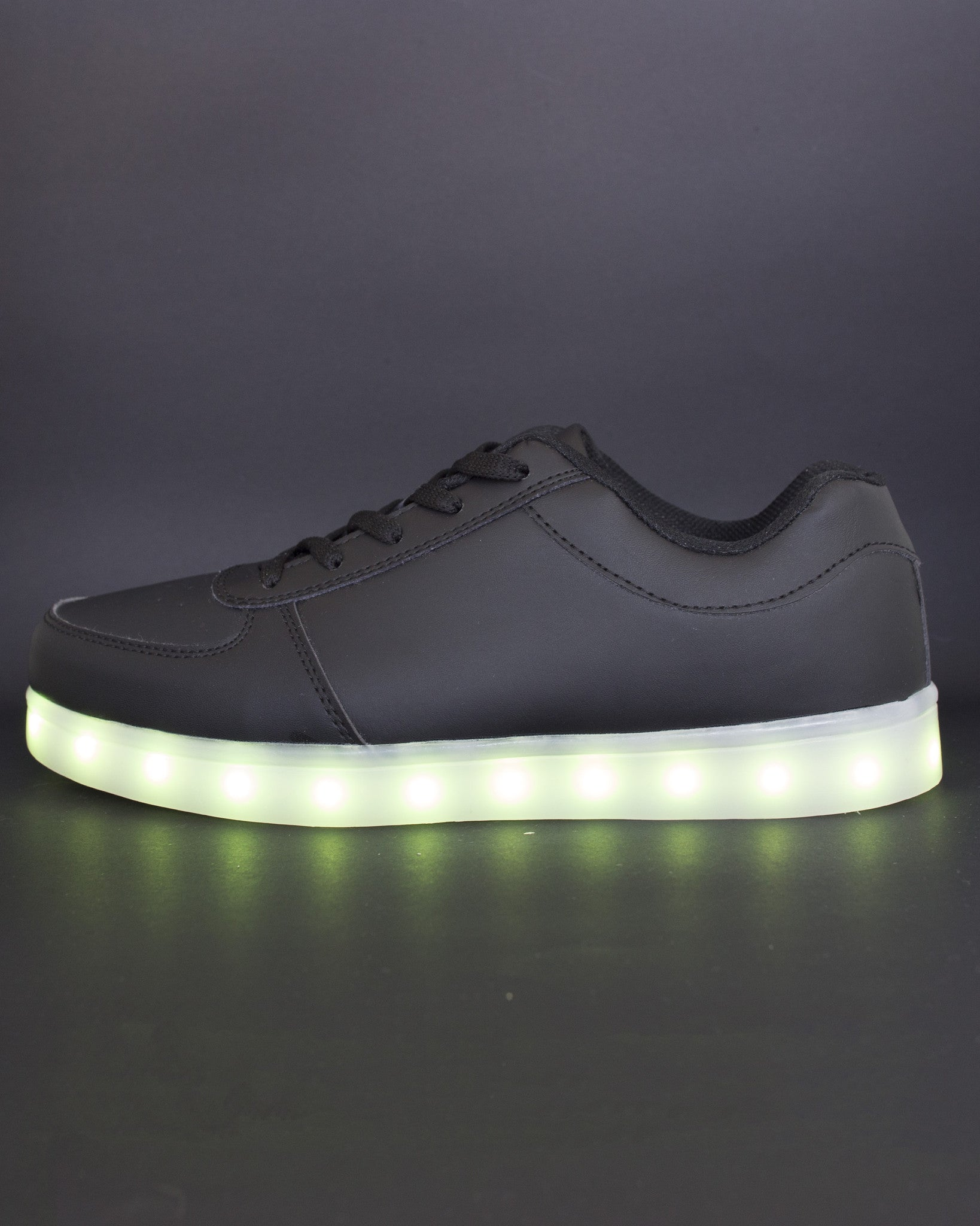 Light Up Shoes - All Black - Electric Styles | World's Number 1 Light Up Shoe Store - {product_type}} -  - 10