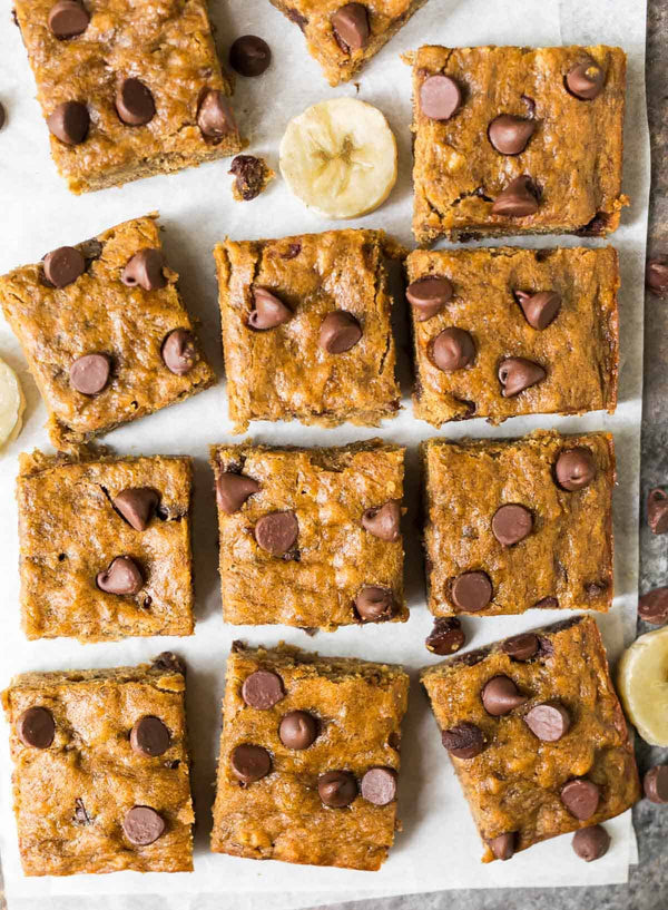HEALTHY BANANA BARS