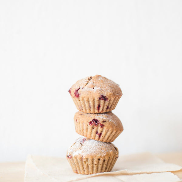 Healthy Raspberry Almond Flour Muffins