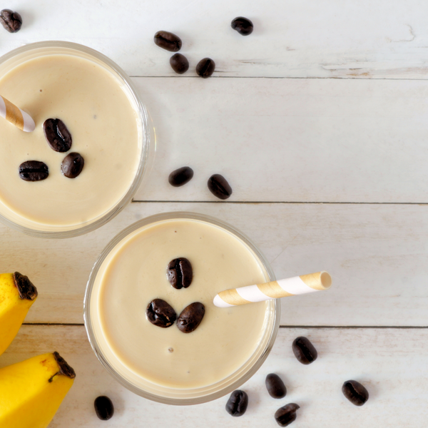 Coffee and Banana Smoothie