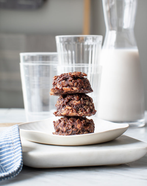NO BAKE HEALTHY COOKIES