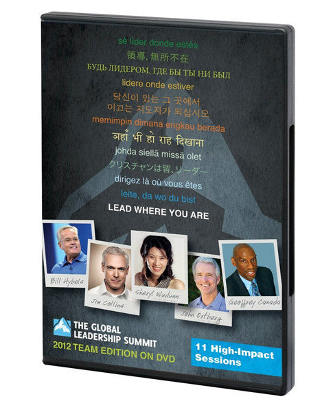 Global Leadership Summit 2012 Team Edition DVD