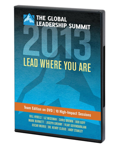 Global Leadership Summit 2013 Team Edition DVD