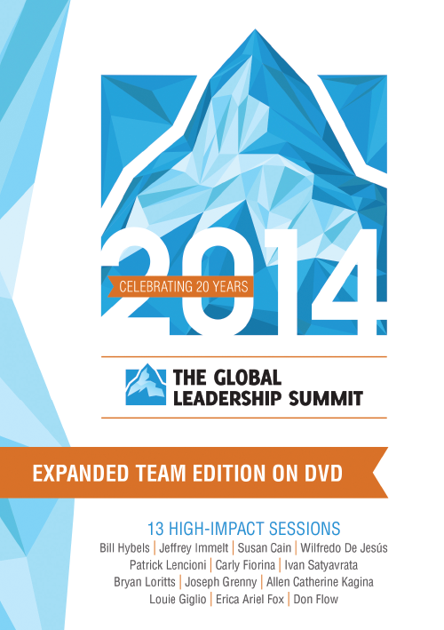 Global Leadership Summit 2014 Expanded Team Edition DVD