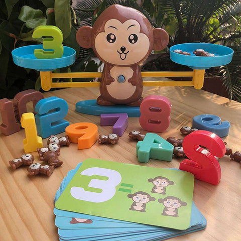 "Educational Toy ""The Evil Monkey"" baby-majesty.myshopify.com"