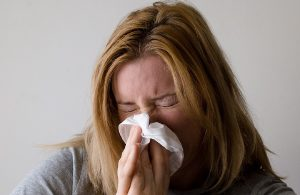 allergies can cause sneezing