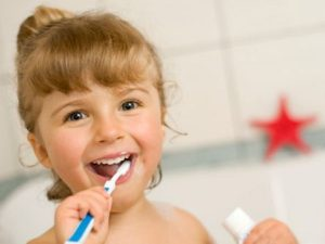 brush your teeth to keep them healthy