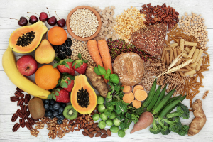 foods with fiber support digestive health