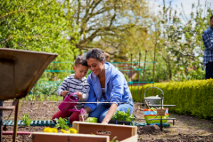 gardening helps you live a greener and healthier lifestyle