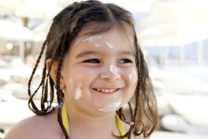 use sunscreen for outdoor protection