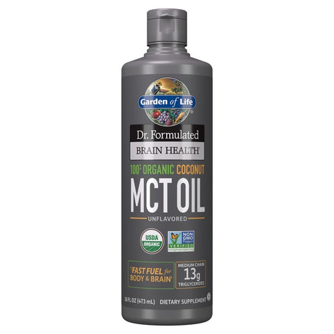 Dr. Formulated Brain Health Organic Coconut MCT Oil