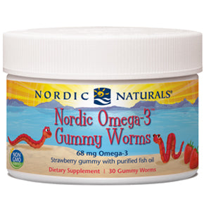 OMEGA-3 GUMMY WORMS
