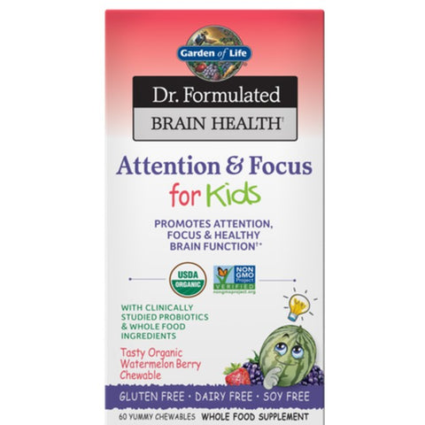 Dr. Formulated Attention & Focus For Kids Watermelon Berry