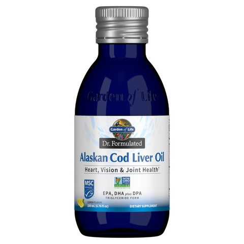 Dr. Formulated Alaskan Cod Liver Oil