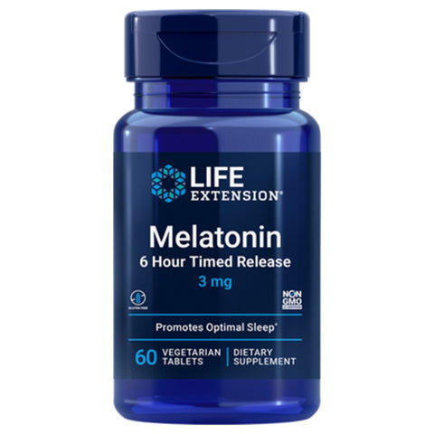 Melatonin 6 Hour Timed Release
