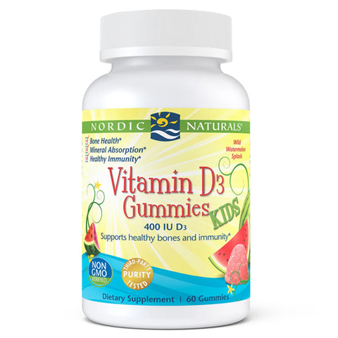 KIDS D3 400IU GUMMIES WATERMELON