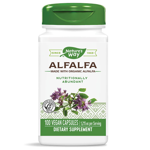 Alfalfa Leaves