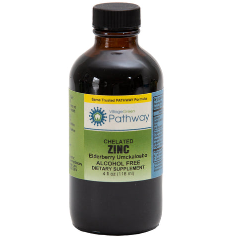 Chelated Zinc Elderberry Umckkaloabo