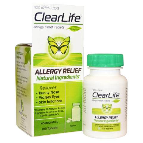 Clearlife Allergy Tabs