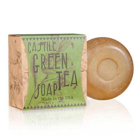 NATURAL GREEN TEA CASTILE SOAP