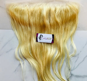 "#613 Single Lace Frontal 13""X4"""