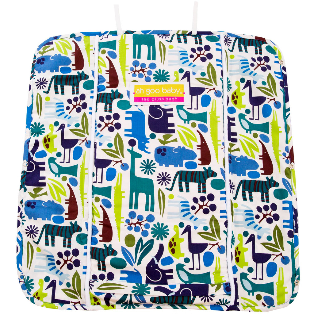 Changing Pad Cover - Zoo Frenzy