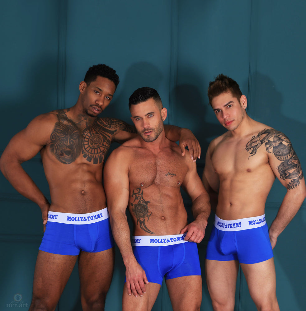 Bamboo Trunk - Colour: Royal Blue