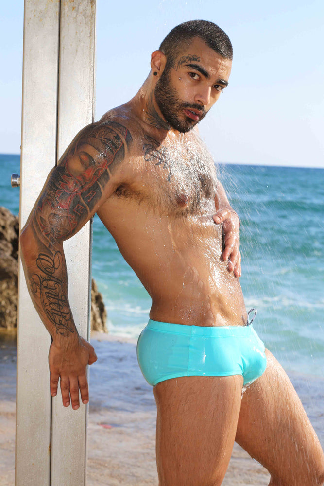 Load image into Gallery viewer, Full Speedo - Turquoise