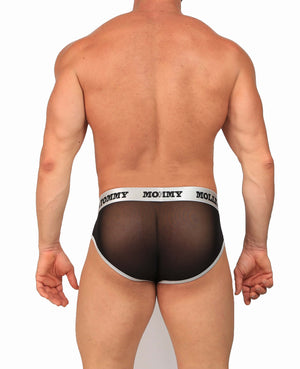 Mesh Brief - Colour: BLACK