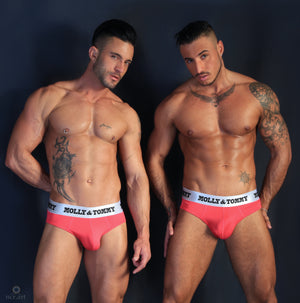 Full Cotton Brief - Colour: Red