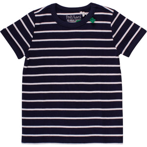 FRED'S WORLD Stripe T-shirt, Navy