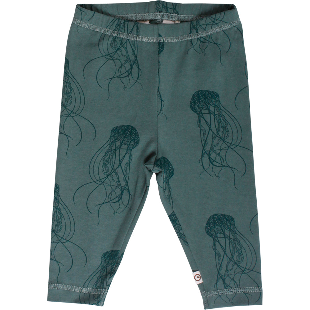 MÜSLI Leggings, jelly fish, grøn