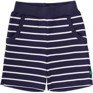 FRED'S WORLD Stripe shorts, Navy