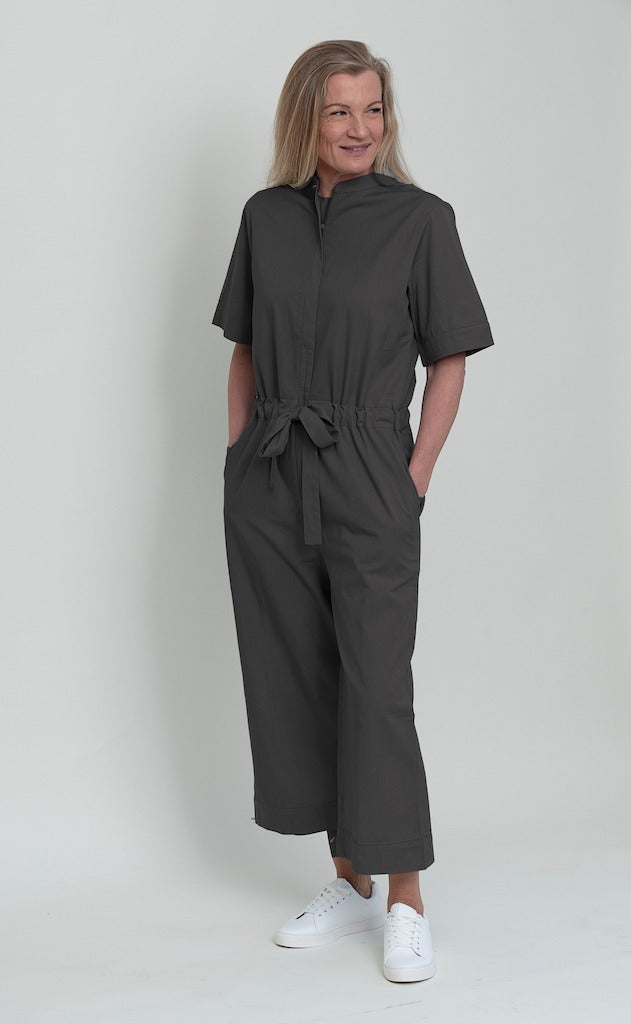 ELODIEE Celia jumpsuit, smokey grey