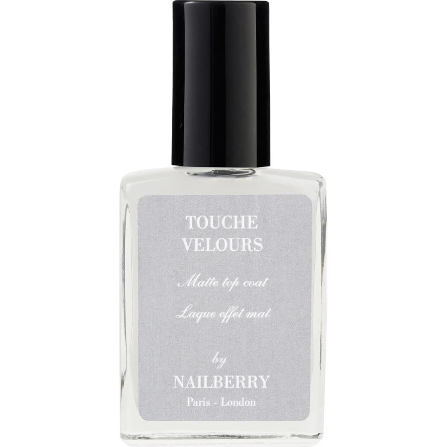 Nailberry L'Oxygene Nail Lacquer, Touche Velours Top Coat